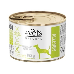 4VETS NATURAL Allergy pies puszka 12x 185g