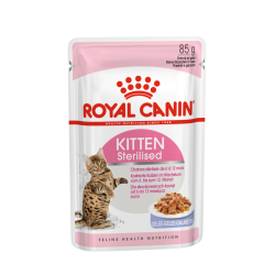 ROYAL CANIN Kitten Sterilised galaretka 85g saszetka